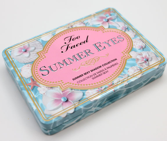 Too Faced Summer Eye 2013.Swatches & Review at Vampy Varnish.