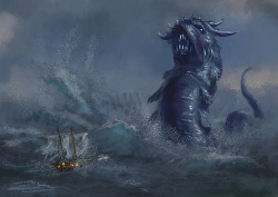 Sea Serpent Speedy by ~Elderscroller —-x—- More: | Monsters | Random |