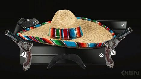 iamjesselee:  What an exciting day. The reveal of the Xbox Juan! Confirmed: the XboxJuan will produce amazing, authentic Citrus Margaritas out of the box on day one. Confirmed: Every SKU will come bundled with a mini mariachi band bobble head decal that Velcro's perfectly onto your Xbox Juan Kinect dispositivo! Confirmed: Also bundled in the XboxJuan box will be a copy of Nacho Libre! ¡Cuántas personas hay en esta fiesta!