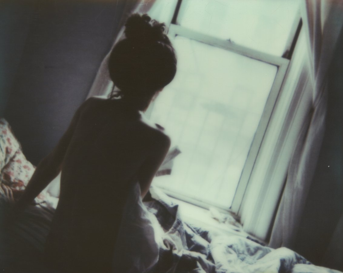 Rise and Shine, Self Portrait The IMPOSSIBLE Project, CP PZ680 Film © Anna Marcell