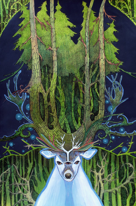 Ghost of Forest by ~yanadhyana
