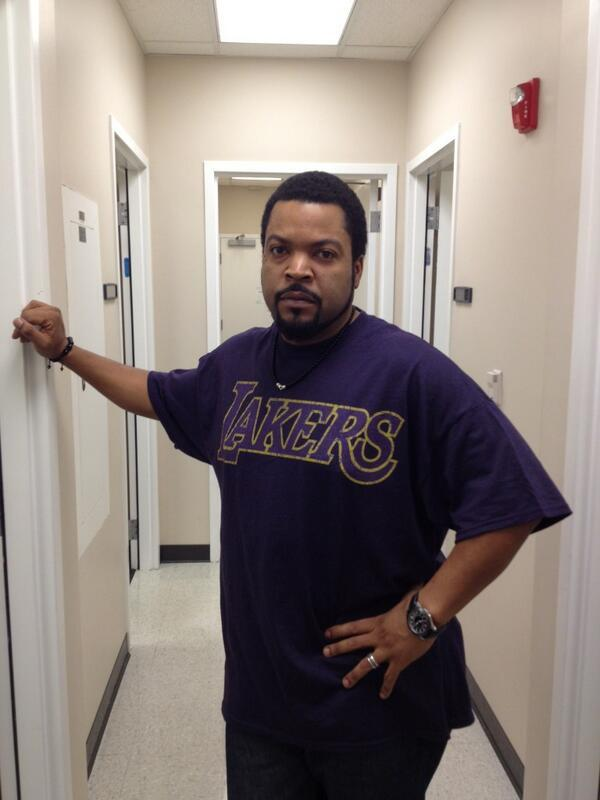 Ice Cube - . @icecube backstage at Jim Rome on Showtime.