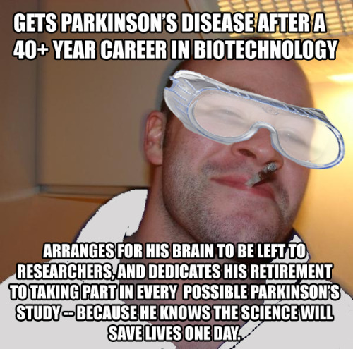 In honour of my father, I present: Good Guy Scientist via imgur → more…