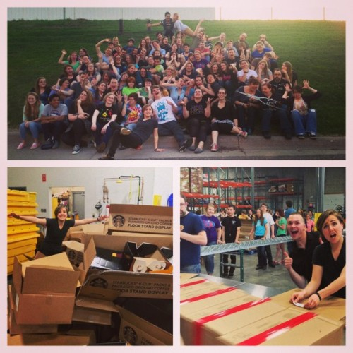 mydrunkkitchen:  Yay, Minnesota! Volunteering. Boxing. Love. #HelloHarto