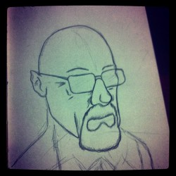 Sketch a day #Heisenberg #breakingbad
