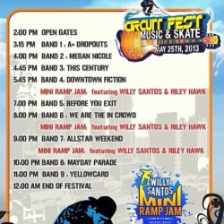 manilaconcertscene:  CIRCUIT FEST 2013: EVENT SCHEDULE!!! Tell all your friends to come with you this May 25th. Thanks to @mmilive for making it possible. 🎧🎧🎤🎼🎶 #mmilive #circuitfest #2013 #concerts #manilaconcertscene #mcs @itsarpee