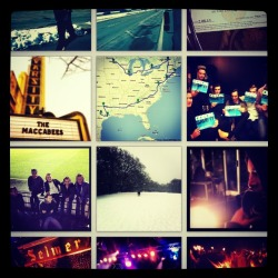 Instagram. username- themaccabees
