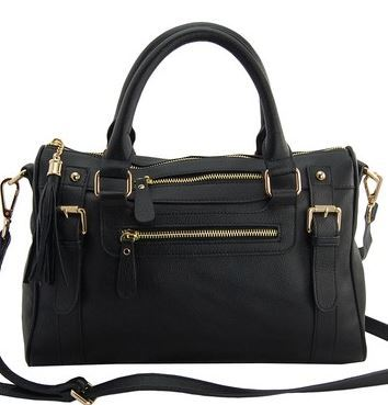 "eerriinnbbaaeerr:  missjacobi:  meredithbklyn:  Erica Anenberg bag is back on HauteLook today. Best purse ever, no exaggeration. Real leather for $86. Would buy in every single color if I could.  according to mcg, this bag is ""best thing in my life."" if that's not convincing i dunno what is.  purchased!  I'm a sucker for a gray bag, and at $86 for real leather, yeah, I can see this being the new Tumblr Thing Everyone Has. Add to cart.  Of course I immediately clicked the link, ready to pounce. At which point, I realized that I already have more handbags than I actually need or use. So I passed. For now, at least…. But - to those that have it - is it possible that they got something mixed up in the measurements? It's saying it's approx. 13"" H x 9.5"" W x 3.5"" D - but that would make it taller than it is wide, which, is not what it looks like….?"