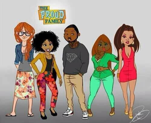 The Proud Family: Teen Years LOL! OMGness!