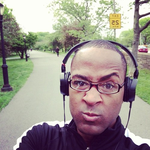 Feel the burn! Morning run! # riversidePark #nyc #marathon #training #health