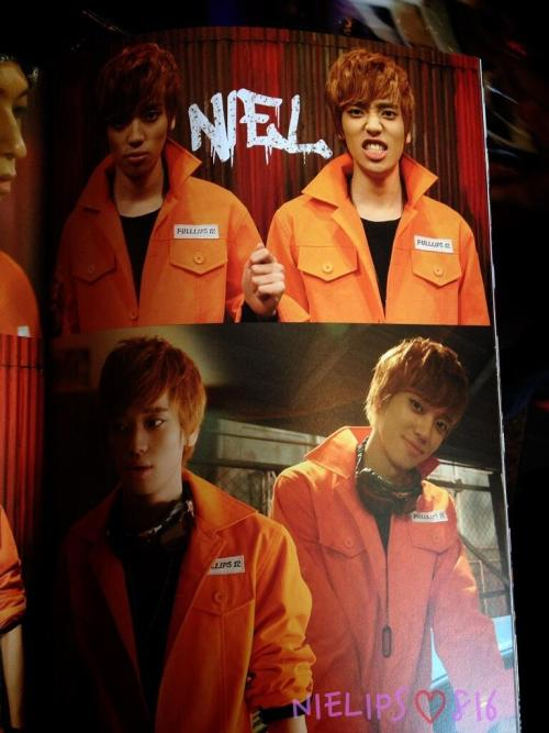 nielfacts:  130518 NIEL in Teen Top No. 1 Asia Tour in Japan Photo Booklet [cr: @nielips0816]