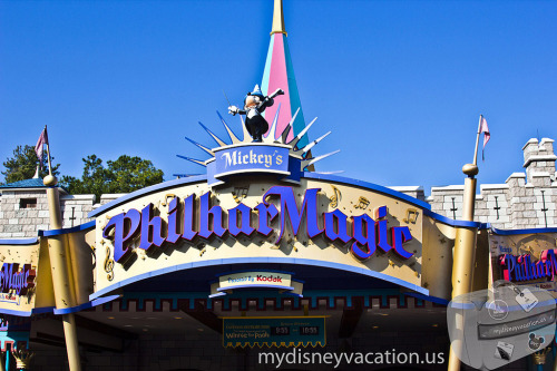 Magic Kingdom Fantasyland - Mickey's PhilharMagic Sign (by dziactor)