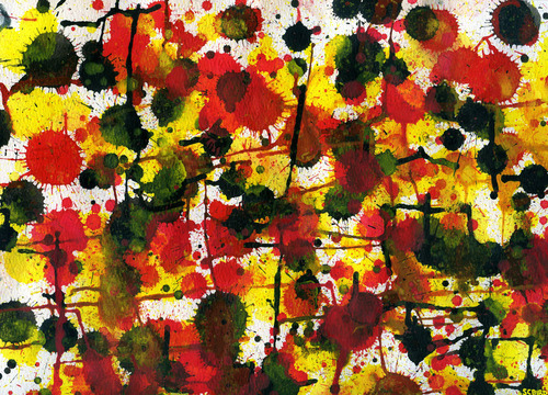 """Red Yellow Black Autumn [Variation #2]""  (Fragment) Stephen C. Bird, 2012"