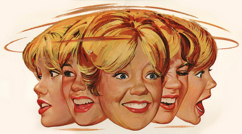 "Hayley Mills! by Miehana on Flickr.Movie poster artwork by Paul Wenzel (1963) for Disney's ""Summer Magic."""