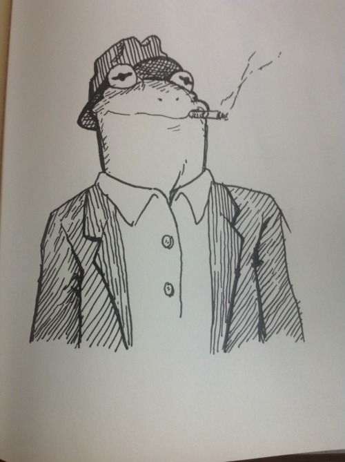 Kermit the beatnik
