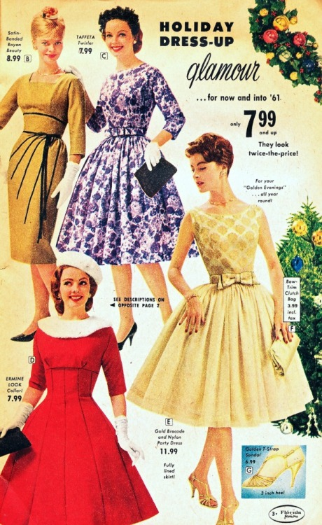 ~ Florida Fashions, Inc., 1960via what-i-found(click to enlarge)