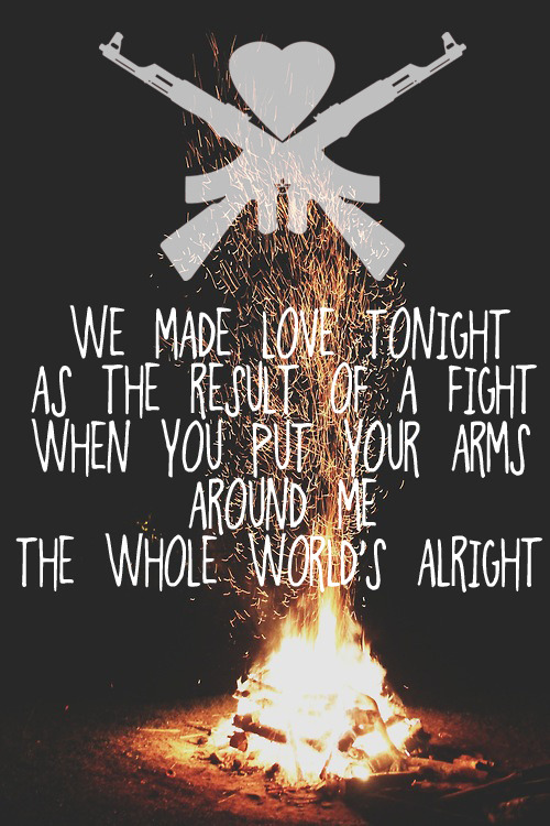 happy-loser:  Man Overboard ~ Love Your Friends, Die Laughing