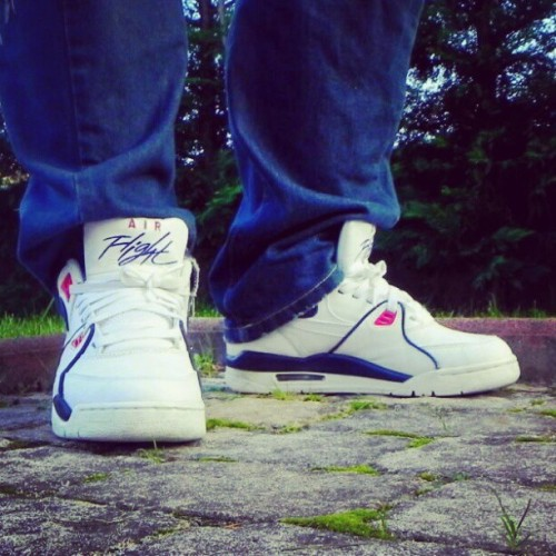 cristofic:  Nike air flight 89  #nike #nikeair #flight89 #flight #white #blue #red #sneaker #Sneakers #Sneakerhead #solecollector #instakicks #sneakercommunity #sneakerfiend #sneakerfreaker #instakicks #igsneakercommunity #igsneakers #wdywt #womft #sadp #easternclub #MySole