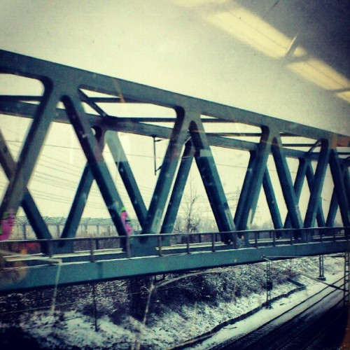 What an amazing pic, hm? #bridge #winter #train #trainstation #instalike #instathings #instamood #instalove #lovestagram #instatag #tagstagram #instavote #votestagram #instaweb #webstagram #instasweet #talkstagram #instagood #goodstagram #all_shots #followerpower #fabshots #kik #kikme #kik4life #nature #pictureoftheday #paradise