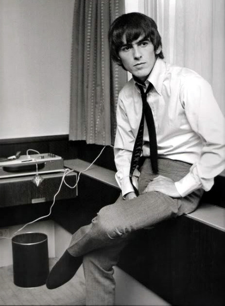 languagethatiuse:  Mr. George Harrison of The Beatles