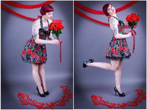 red valentine inkedgirlsofinstagram tattoo inked altmodel ink hearts tattoos pinup inkedgirl valentines pinupstyle piercings heart