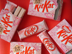 cattermon:  Kit kat rosa / Imagens Fofas para Tumblr, We Heart it, etcบน@weheartit.com-http://whrt.it/11Xlf9X