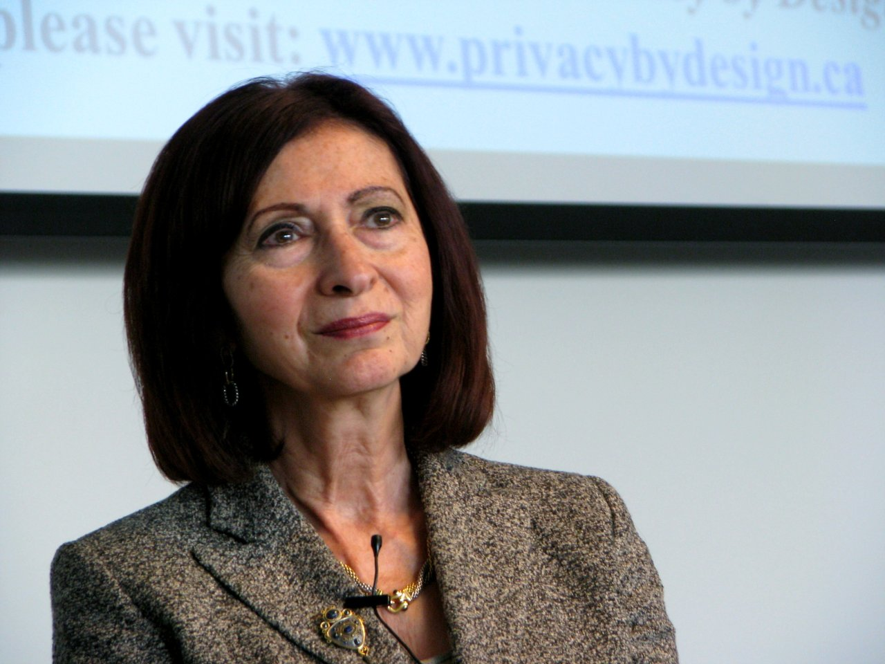 "Ann Cavoukian, Ph.D. Ontario's Information and Privacy Commissioner delivered the keynote speech ""Access by Design - Time To Change the Paradigm"" at the GO Open Data Conference in Kitchener, on May 11th, 2013.   Cavoukian has been working to promote the idea that privacy for individuals must be the default, and has introduced Privacy by Design to promote personal security and protect citizens from  Surveillance By Design. Although Dr. Cavoukian advocates for open data, I couldn't find much in the way of free culture photos of her floating around the Internet. I've rectified that deficiency by uploading this image to the Wikimedia Commons, and posting it on her Wikipedia page. I've more photos of Ann Cavoukian and other GO Open Data presemters I'll be posting on  visual free libre over the upcoming weeks."