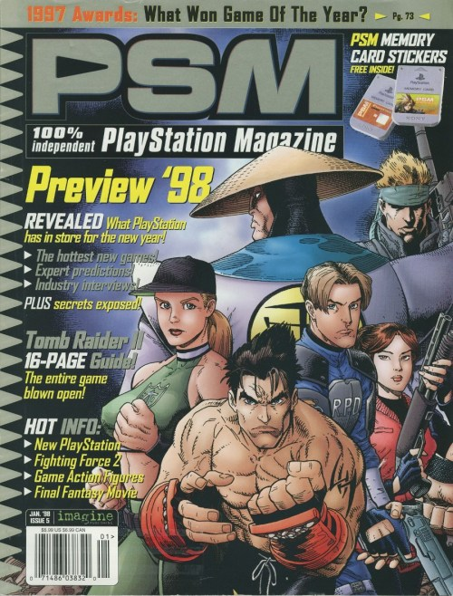 PSM magazine 1998 preview issue.