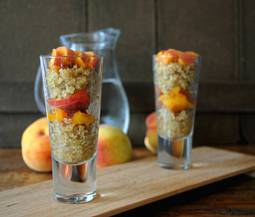 findvegan:  Sweet Quinoa with Caramelized Apricot Layers..