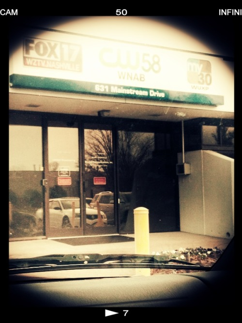 thegrannywhites:  Hello, Fancy Fox 17 Building! See The Granny Whites and Fuzz Face on Fox 17 News (NASHVILLE) at 8a.m.