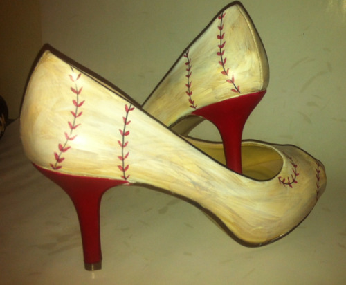 baseball heels by khenri