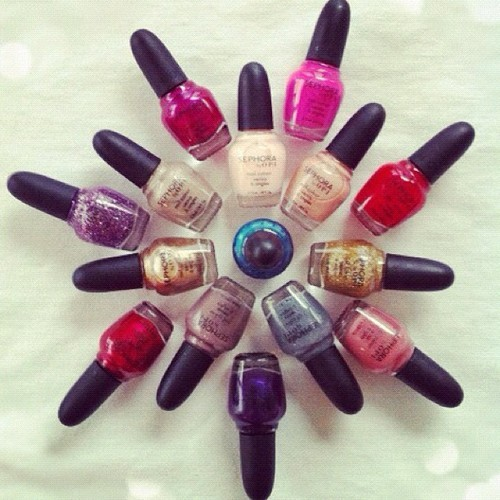 So many colors…so little time! {Sephora by OPI Merry & Bright Nail Collection}