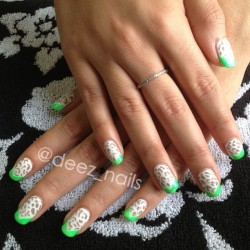 @sylveam's lime tips 💅👓💚 #gelnails #gelmanicure #deeznails #nails #nailart #nailporn #nailswag #nailpolish #nailstudio #springnails #nailartohhlala #nailsoftheday #nail_fans #vancouver #vancouvernails #richmond #steveston