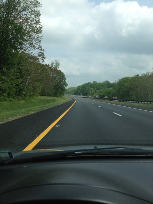 Open road heading south jersey back home