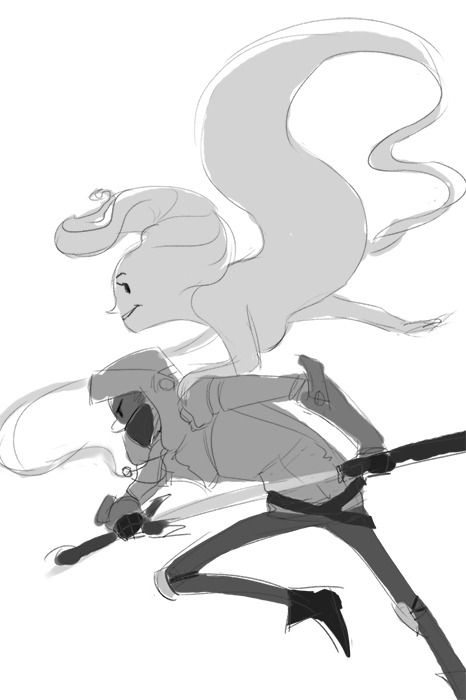 WIP for a picture featuring the Princess and the Knight, two original characters of mine.Posting just in case I screw up again.Oh yeah, I used this awesome stock photo for the pose of the knight: http://ahrum-stock.deviantart.com/art/Gratuitous-Swording-16-54832500