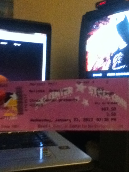 GOT MY TICKET FOR WICKED AT THE STRAZ CENTER Wednesday, January 23, 2013 at 7:30pm SO DAMN EXCITED The Current 2nd National Tour Cast has: Christine Dwyer as Elphaba Jeanna de Waal as Glinda Billy Harrigan Tighe as Fiyero Gina Ferrall as Madame Morrible Paul Kreppel as The Wizard Zarah Mahler as Nessarose Wayne Schroder as Witch's Father Kerry Blanchard as Witch's Mother Jane Brockman as Midwife Michael Wartella as Boq Jay Russell as Doctor Dillamond Dashí Mitchell as Chistery