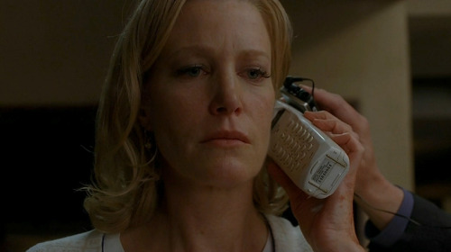 "heisenbergchronicles:  5x14: Ozymandias Observations: ""What was truly fascinating about that phone call was that if it was trolling the Bad Fan, it was also trolling me: the sort of feminist-minded sucker who took the speech at face value, for nearly an hour, until I suddenly realized, in a flash of clarity, that it was a fake-out for the police. (Skyler realized long before I did.) Once my analytical skills flared back into being, I was stunned by the moment's effectiveness. I mean, on one level, that speech was just what it looked like: Walt venting every toxic feeling he'd ever had about his wife. On another level, it was the opposite: it was Walt pretending to be an abusive husband, as a gift to Skyler. It was an apology to her, as well as an attempt to get her off the hook legally, to honor Holly saying ""Mama."" Walt's language was pretty much a PowerPoint presentation of abuser behavior, designed to make Skyler's case in court proceedings. And yet it still had the sting of catharsis, letting Walt say what he felt: that Skyler is a whiner, a nag, a drag, responsible for anything that happened to her. Like the Bad Fans who roam the Internet (and even some Good Fans, who can make a more reasonable case for disliking Skyler), he relishes calling her a bitch."" – Emily Nussbaum in That Mind-Bending Phone Call on Last Night's Breaking Bad (The New Yorker)"