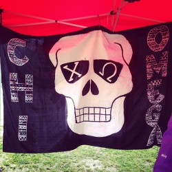 Greek Games banner 💀 #ΧΩ @chiomegapikappa @bhtootsiepop @sarawebber @cunningsam
