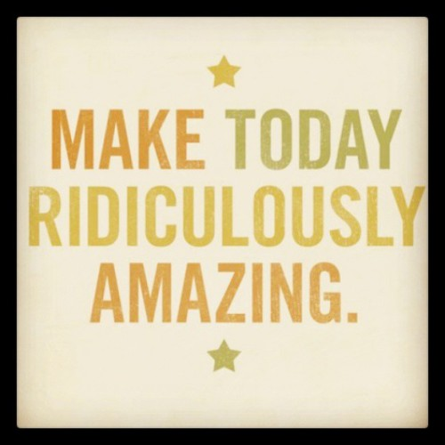 Make today ridiculously amazing! @RenegadeGlobal #longisland #ny #humpday