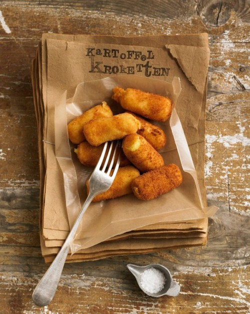 cozmikhugs:  Croquettes - dietlind wolf: soulfood link for German  Click photo for Martha Stewart recipe - Potato Croquettes