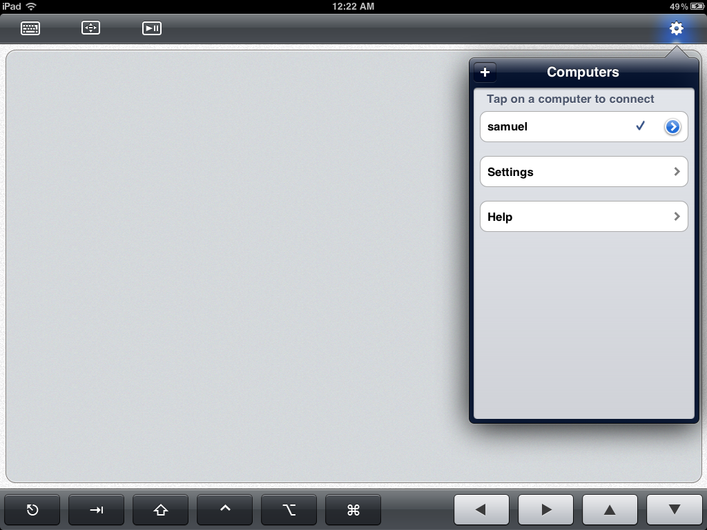 #screenshots #appreview #ipadapp Look at a screenshot of TouchPad