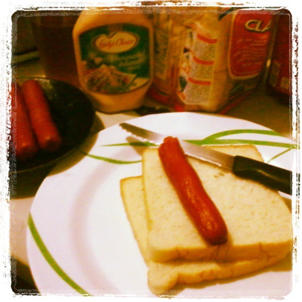 Tinamad  na magluto kaya eto nlng.. #food #yummy #dinner #sandwich #f4f #ifollowback #thousandislanddressing