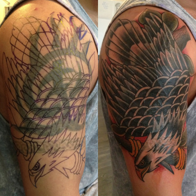 Cover up from last week