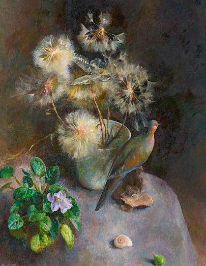 stilllifequickheart:  Henriette Wyeth Dusty Butterfly 1976