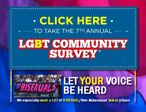 bisexual-community:  IMPORTANT!! It's time for the annual (2013) International LGBT (marketing) Survey. As the Bisexual Resource Center asks PLEASE TAKE IT anytime thru June 30th, 2013. And then 'Signal Boost', Reblog and in general TELL ALL YOUR FRIENDS.  We especially need a LOT of Bisexual/Non-Monosexual Voices please. Here is what it is all about:      Please take part in CMI's 7th Annual LGBT Community Survey. Participation in this survey gives important feedback to our LGBT community media and organizations, and provides valid data to companies interested in serving our needs, sponsoring our charities, and supporting their LGBT employees. Last year, the survey was taken by over 45,000 LGBT citizens of 148 countries!Your answers are completely confidential, and will never be used for sales or marketing purposes. The survey should take less than 15 minutes to complete.      We really need a lot of bisexual/non-mononsexual people to take this survey and share it with everyone they can think of becasue Community Marketing & Insights has graciously shared the important statistical information with Bisexual NGO's/Charities & Academic Researchers. And these people in turn use it to be able to help provide direct and useful services to you! So please help in this annual effort. Thank You