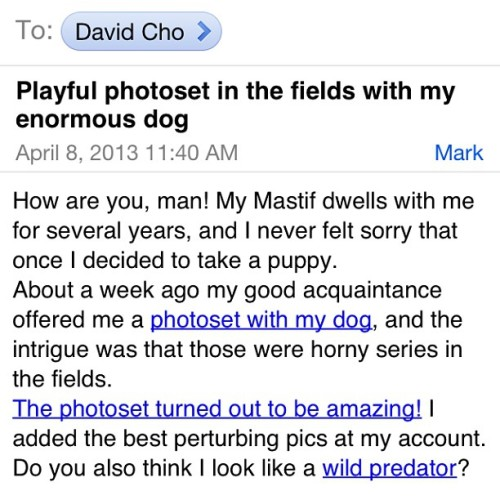 davidcho:  THIS IS SOME VERY COMPELLING SPAM.