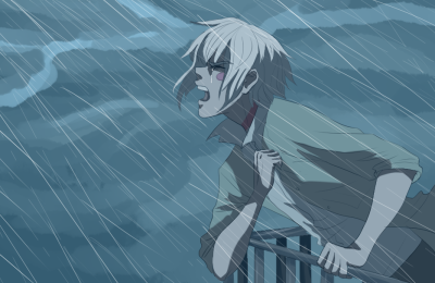 estrellapen:  Do you think that Shion sometimes screams off the side of his balcony, hoping that maybe Nezumi will show up again?