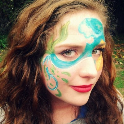 Under the sea #facepaint