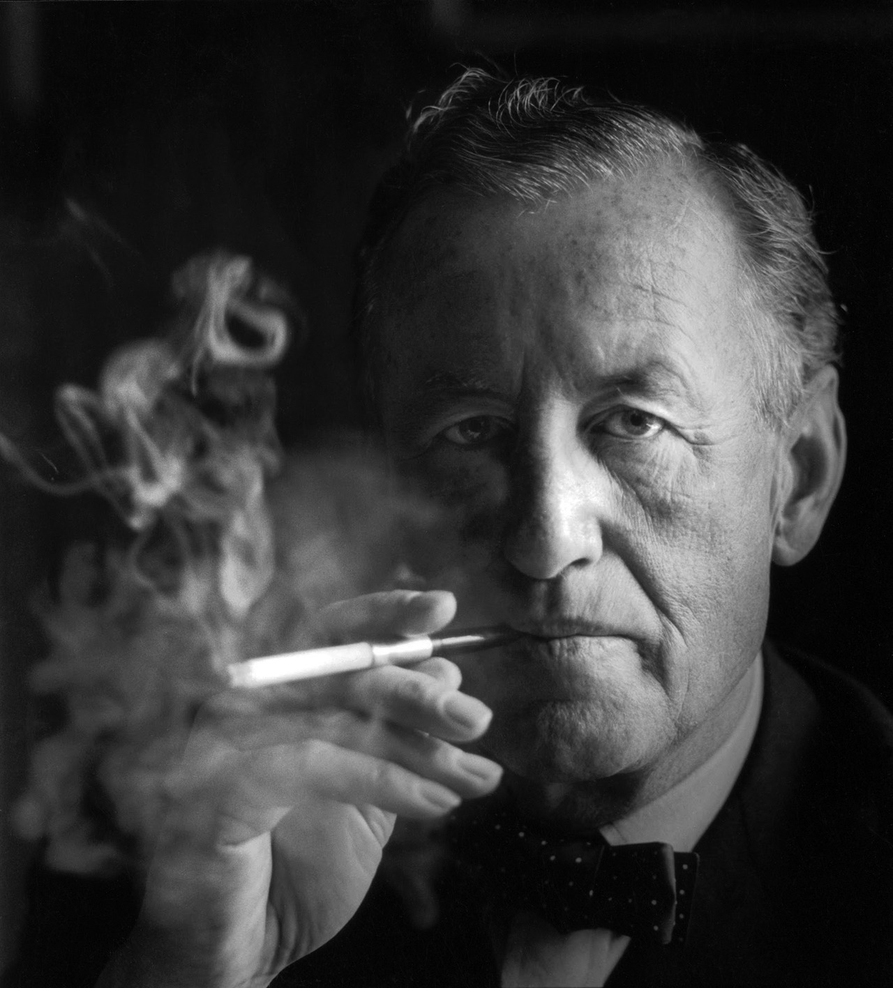 voxsart:  Mr. Fleming. The Bow Tie Crowd.  Biopic staring Geoffrey Rush. NOW.