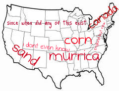 here is your basic map of america